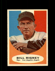 1961 BILL RIGNEY TOPPS #225 MGR ANGELS EX *7640