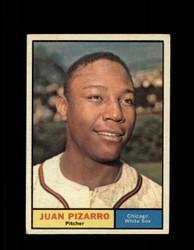 1961 JUAN PIZARRO TOPPS #227 WHITE SOX EX *7648