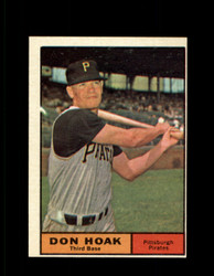 1961 DON HOAK TOPPS #230 PIRATES NM *7663