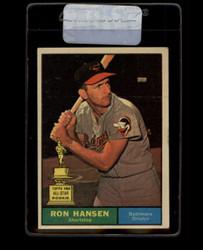 1961 RON HANSEN TOPPS #240 ORIOLES VG/EX *7705