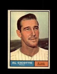 1961 AL CICOTTE TOPPS #241 CARDINALS EXMT/NM *7707