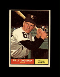 1961 BILLY GOODMAN TOPPS #247 WHITE SOX EX/EXMT *7741