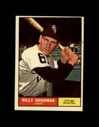 1961 BILLY GOODMAN TOPPS #247 WHITE SOX EX *7742