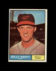 1961 BILLY HOEFT TOPPS #256 ORIOLES NM *7779
