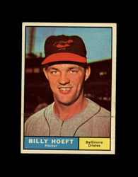 1961 BILLY HOEFT TOPPS #256 ORIOLES EX *7782