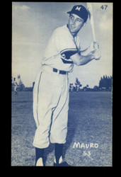 1953 CARMEN MAURO CANADIAN EXHIBITS #47 BLUE TINT ROYALS NM