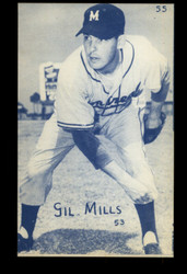 1953 GIL MILLS CANADIAN EXHIBITS #55 BLUE TINT ROYALS NM