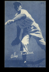 1953 ALEX KELLNER CANADIAN EXHIBITS #64 BLUE TINT ATHLETICS NM