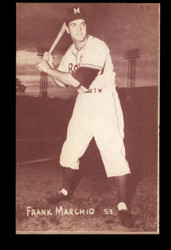 1953 FRANK MARCHIO CANADIAN EXHIBITS #53 RED TINT ROYALS NM