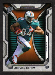 2012 MICHAEL EGNEW  TOPPS STRATA #128  ROOKIE 14 CARD HOBBY LOT MIAMI DOLPHINS