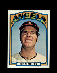 1972 KEN MCMULLEN TOPPS #765 ANGELS NM *3485