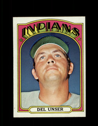 1972 DEL UNSER TOPPS #687 INDIANS NM *4185