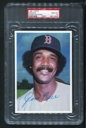 1981 JIM RICE TOPPS SUPER NATIONAL 5X7 RED SOX PSA 10