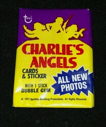1977 TOPPS CHARLIES ANGELS SERIES 3 UNOPENED WAX PACK