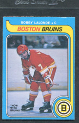 1979 BOBBY LALONDE OPC #326 O PEE CHEE BRUINS NM #3022