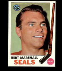 1969 BERT MARSHALL TOPPS #80 SEALS *5441