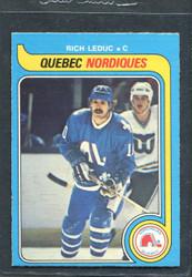1979 RICH LEDUC OPC #283 O PEE CHEE NORDIQUES NM #3007