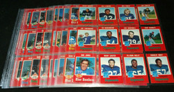 1971 OPC CFL COMPLETE SET O PEE CHEE 132/132 IN PAGES *011