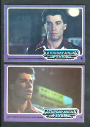 1977 DONRUSS SATURDAY NIGHT FEVER COMPLETE SET 66/66 *0011