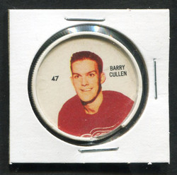 1960-61 BARRY CULLEN #47 SHIRRIFF/SALADA COINS RED WINGS *2927