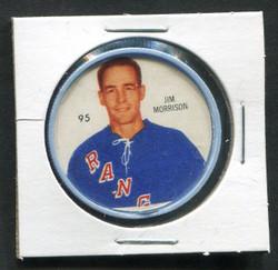 1960-61 JIM MORRISON #95 SHIRRIFF/SALADA COINS RANGERS *8605