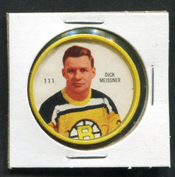 1960-61 DICK MEISSNER #111 SHIRRIFF/SALADA COINS BRUINS *8192