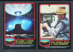 1978 TOPPS CLOSE ENCOUNTERS OF THE THIRD KIND COMPLETE SET 66/66