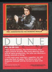 1984 FLEER DUNE COMPLETE TRADING CARD SET 132/132