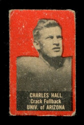 1950 CHARLES HALL TOPPS FELT BACKS ARIZONA VG *1961