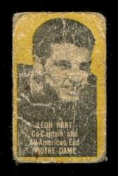 1950 LEON HART TOPPS FELT BACKS NOTRE DAME POOR *2740