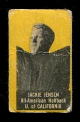 1950 JACKIE JENSEN TOPPS FELT BACKS CALIFORNIA VG *4194