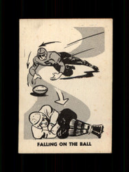 1952 FALLING ON THE BALL PARKHURST #13 CFL EX/EXMT *7727
