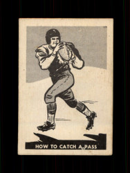 1952 HOW TO CATCH A PASS PARKHURST #16 CFL EX/EXMT *6928