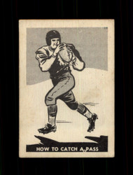 1952 HOW TO CATCH A PASS PARKHURST #16 CFL VG/EX *7061