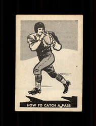1952 HOW TO CATCH A PASS PARKHURST #16 CFL EX *7608