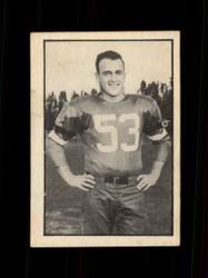 1952 BENNY MACDONNELL PARKHURST #63 CFL VG/EX *4587