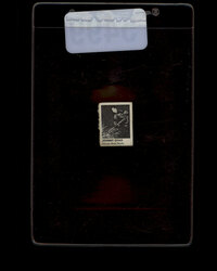 1950 JOHNNY CHAD CAPSULE VEND HOCKEY CARD BLACK HAWKS #5499