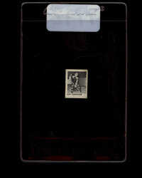1950 ROY CONACHER CAPSULE VEND HOCKEY CARD #7712