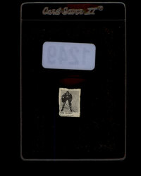 1950 KING CLANCY CAPSULE VEND HOCKEY CARD MAPLE LEAFS *1249