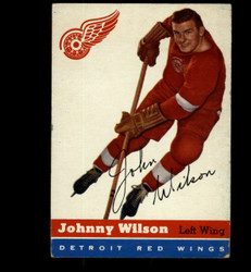 1954 JOHNNY WILSON TOPPS #4 RED WINGS VG/EX *8830