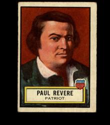 1952 PAUL REVERE TOPPS #16 LOOK 'N SEE VG *1305