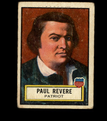 1952 PAUL REVERE TOPPS #16 LOOK 'N SEE GD/VG *1887