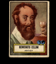1952 BENVENUTO CELLINI TOPPS #86 LOOK 'N SEE GD/VG *2523