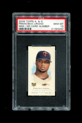 2006 FRANCISCO LIRIANO  ALLEN GINTER MINI NO CARD NUMBER PSA 10