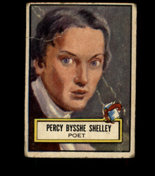 1952 PERCY BYSSHE SHELLEY TOPPS #114 LOOK 'N SEE FAIR *2713