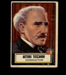1952 ARTURO TOSCANINI TOPPS #117 LOOK 'N SEE VG *4067