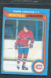 1979 PIERRE LAROUCHE OPC #233 O PEE CHEE CANADIENS NM #3047