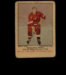 1951 BENNY WOIT PARKHURST #58 RED WINGS FR *1784