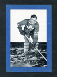 1934/43 NICK METZ BEE HIVE GROUP 1 CORN SYRUP PHOTO MAPLE LEAFS EXMT