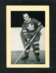 1934/43 GUS MARKER BEE HIVE GROUP 1 CORN SYRUP PHOTO MAPLE LEAFS VG